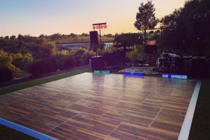 dance floor hire algarve