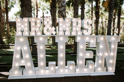 algarve wedding decor