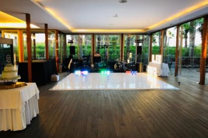 algarve dance floor hire