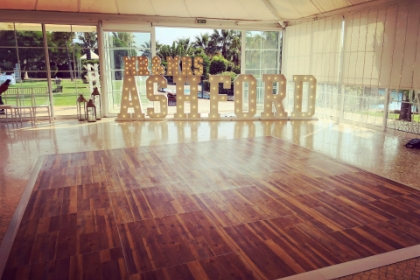 wooden dance floor algarve