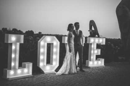 algarve wedding decor hire