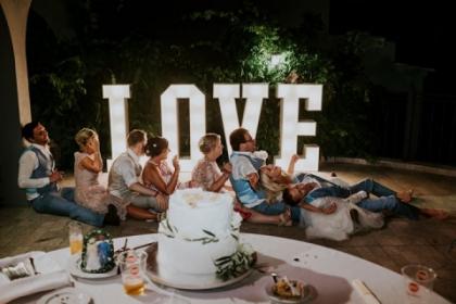 algarve wedding decor hire
