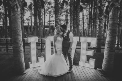 algarve wedding decor